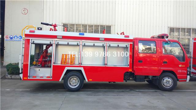 五十铃3吨泡沫消防车图片