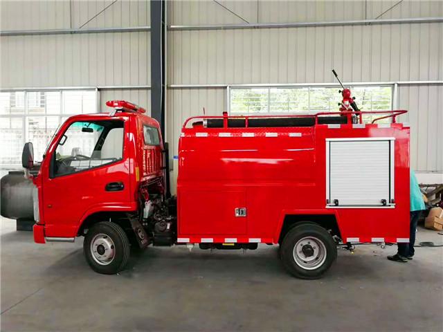 凯马2吨消防洒水车