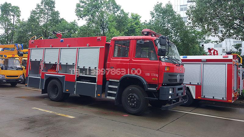 东风6吨消防车图片
