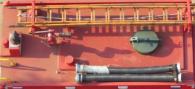 东风双排蓝牌消防车(1吨)