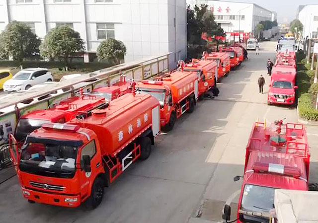 6.8吨森林消防车