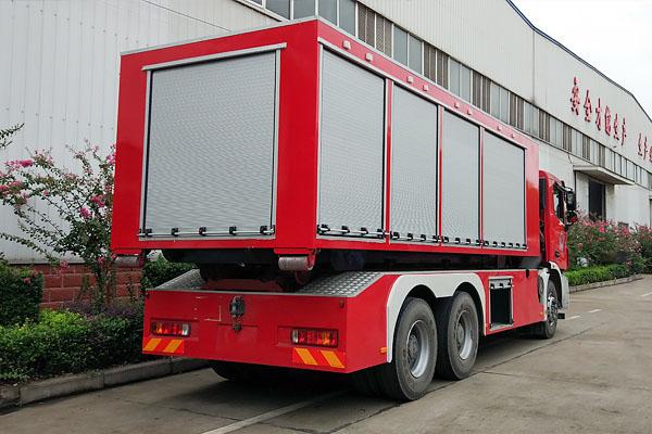 JDF5300TXFZX160型自装卸式消防车介绍
