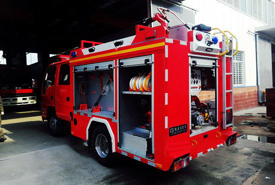 国六消防车微型消防车正式上线(图2)