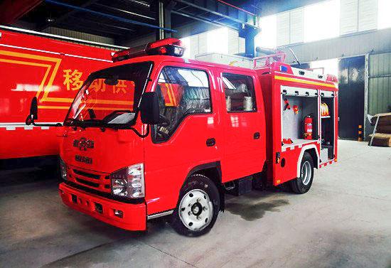 国六消防车微型消防车正式上线(图1)
