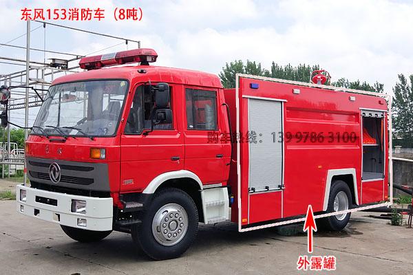 东风153 8吨消防车