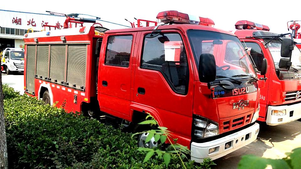 国六五十铃600P泡沫消防车