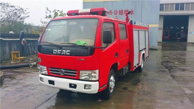 东风锐铃2吨水罐消防车