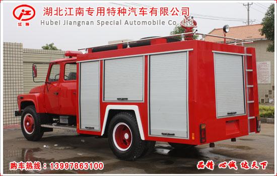 东风尖头四驱越野消防车