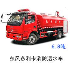 东风多利卡消防洒水车(国五)
