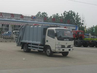 东风小金霸压缩式垃圾车