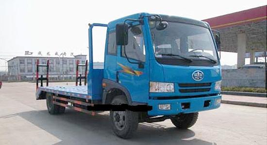 解放CA1123平板拖车
