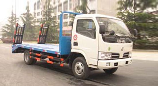 东风EQ1080平板拖车