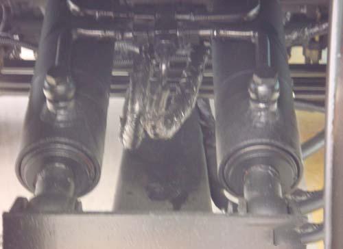 清障车托举系统液压缸
