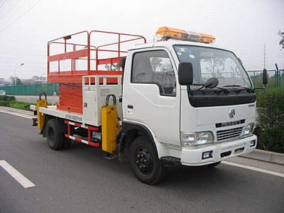 东风剪叉式高空作业车
