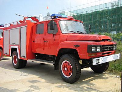 东风140泡沫消防车