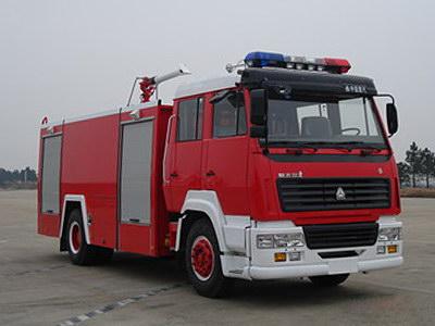 斯太尔8吨泡沫消防车