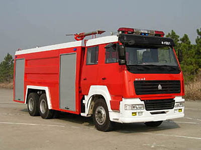 斯太尔15吨泡沫消防车