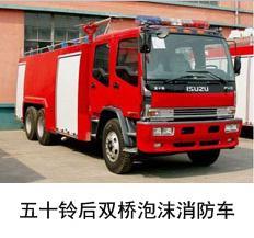 庆铃五十铃12吨泡沫消防车