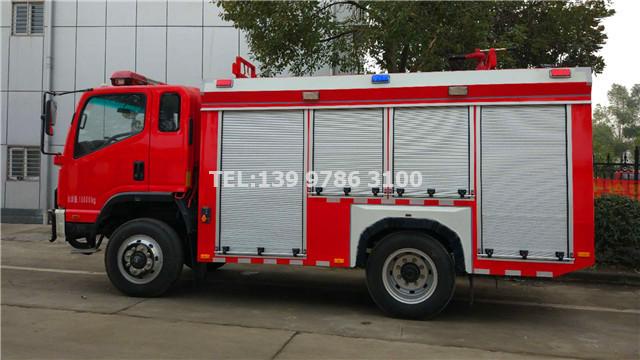 凯马消防车侧面图
