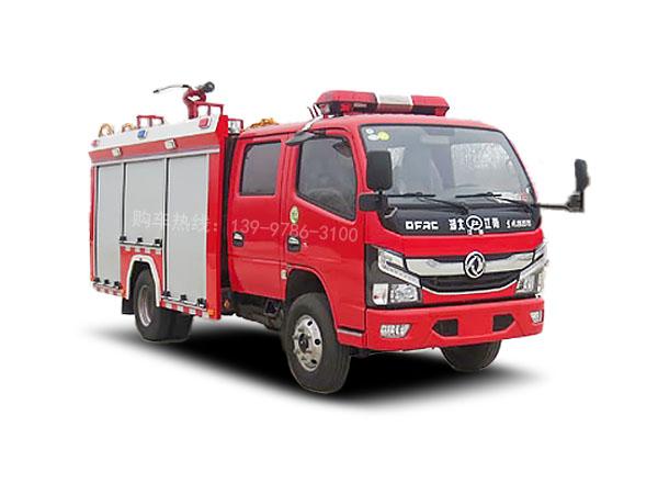 东风2.5吨水罐消防车图片、