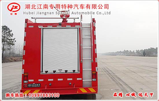 五十铃12吨水罐消防车图片