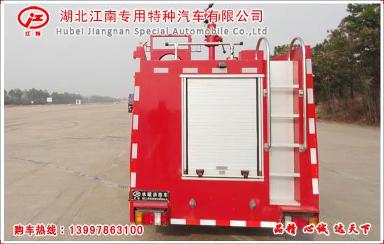 五十铃3吨水罐消防车图片