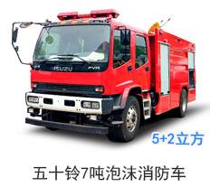 五十铃7吨泡沫消防车