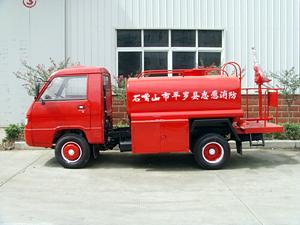 福田小卡农用消防车