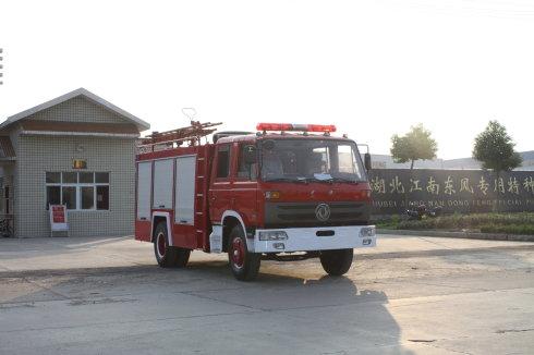 东风145水罐--泡沫消防车(5吨)