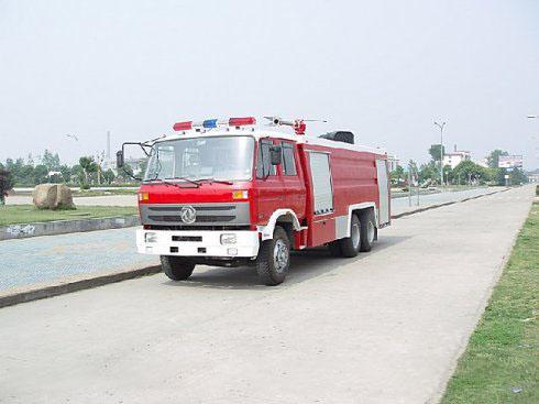 东风后双桥水罐--泡沫消防车(10吨)