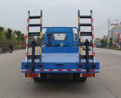 解放赛龙10版挖掘机运输车