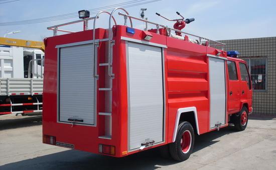 庆铃五十铃2-3吨水罐消防车